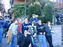 IMAG0278.JPG: 765.  Jake, Travis, Tim, Michael, Chelsea, Tyler, Jason, and 'Tasha just before dancing in the square.